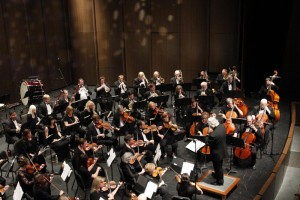 Parker Symphony Orchestra Overhead View