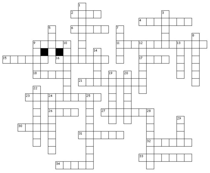 Classical Music Crossword Puzzle