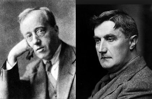 Classical Music Composer Friends Holst and Vaughan Williams