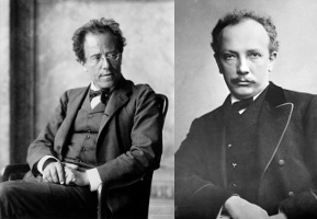 Classical Music Composer Friends Mahler and Strauss