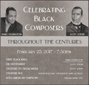 Celebrating Black Composers Through the Centuries, Feb 25 2017