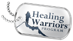 Healing Warriors Program Logo for Star Spangled Gala