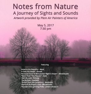 Notes From Nature Concert - May 5 2017