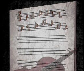 Sheetmusic Violin