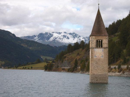 Sunken Church in Tyrol